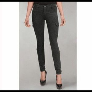 GUC, size 4, cabi ponte charcoal cargo pants,
